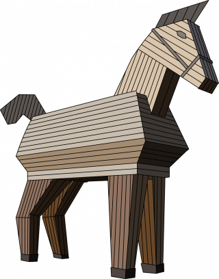 social engineering the trojan horse All trojan horses are classified as social engineering ploys in these schemes, users are tricked into believing a malicious program is legitimate users must open the files to infect their computers.