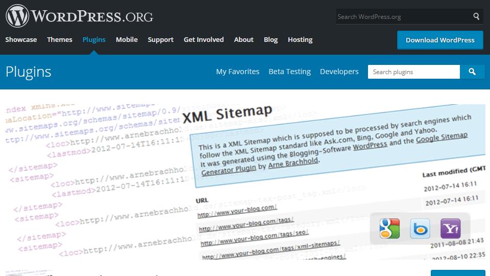 404エラー google xml sitemaps 4 0 9の対処法は